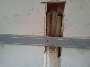 Reboucher Trou Mur Placo : rebouchage saign au platre avec tuyau de cuivre ~ Melissatoandfro.com Idées de Décoration