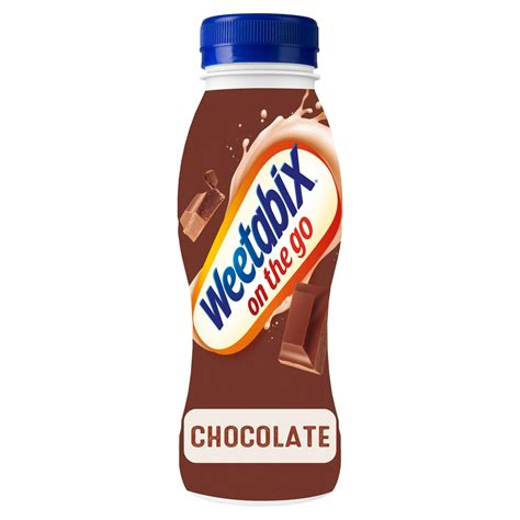 How many calories in a cup of coffee? Weetabix On the Go Breakfast Drink Chocolate 250ml   Cereal Bars   Iceland Foods