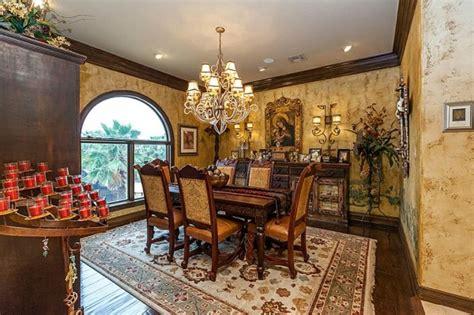 sale  texas  stately mediterranean luxury home  louis vuitton branded bedroom