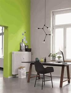 Wohnen Mit Farbe : ideen f r die wandfarbe im arbeitsszimmer alpina farbe einrichten ~ Markanthonyermac.com Haus und Dekorationen