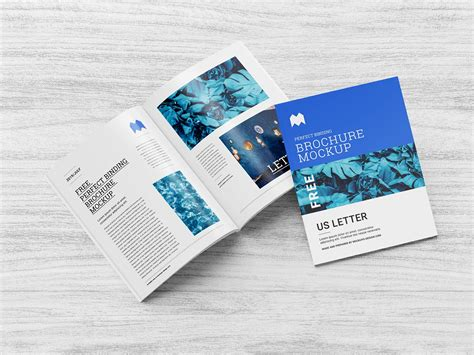 Assets for photoshop, sketch, xd, figma, free for your commercial and personal projects. Free Multi-Purpose Perfect Binding US Letter Brochure ...