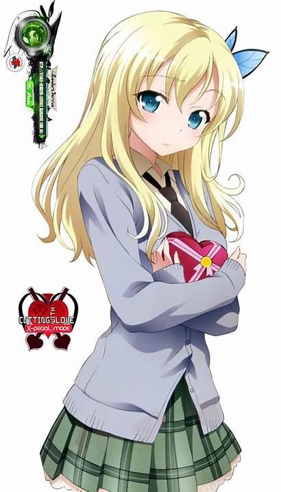Sena Kawaii Valentine Render Anime Haganai Hyper