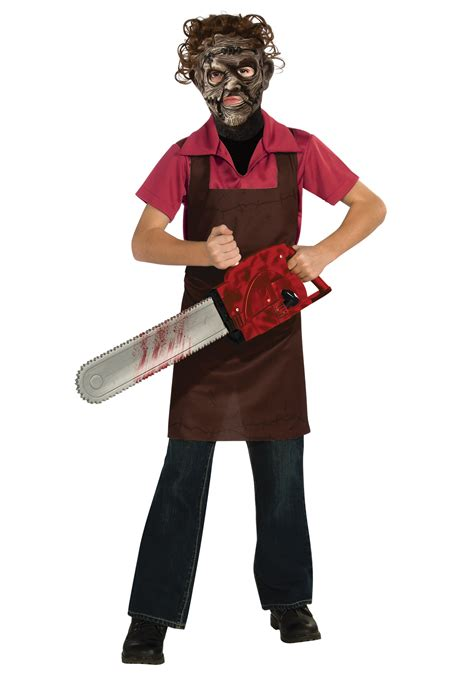 boys costumes boys leatherface costume