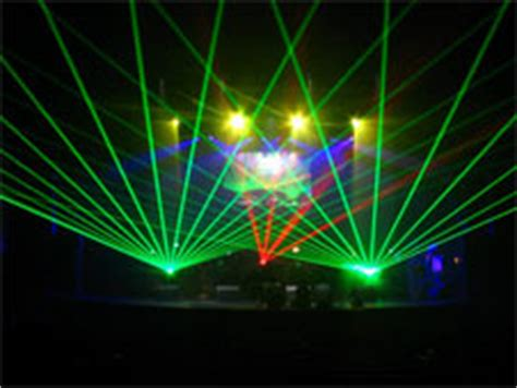 outdoor laser show offered world wide by cta lasers