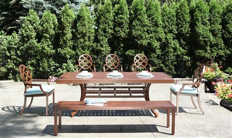outdoor patio sets canada the best outdoor furniture for canadian weather cabana coast
