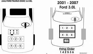 2005 Ford Taurus 3 0 L Firing Order
