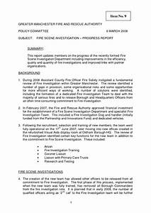 best photos of investigation report template sample With fire investigation template