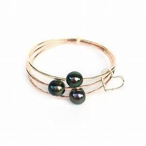aa tahitian pearl bangle bracelet kailua jewelry With bracelet