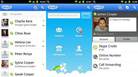 skype android descargar skype gratis para tablets con android