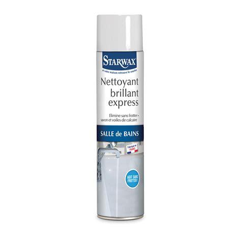 produit pour salle de bain nettoyant brillant express pour salle de bains starwax produits d entretien maison