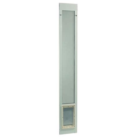 ideal pet patio door ideal pet fast fit pet patio door large white