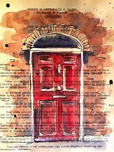 102 Best Watercolour Doors  U0026 Windows Images On Pinterest