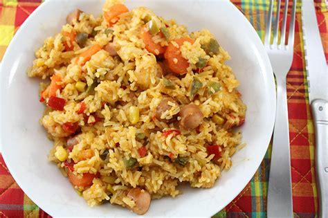 cuisine antillaise salade de riz à la tutocuisine