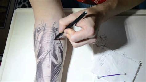 ballpoint  tattoo xd youtube