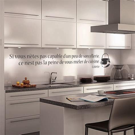 stickers pour cuisine pas cher stickers muraux cuisine home design architecture cilif