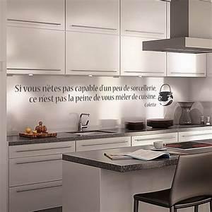 Stickers Muraux Cuisine : stickers stickers citations cuisine et sorcellerie art ~ Premium-room.com Idées de Décoration