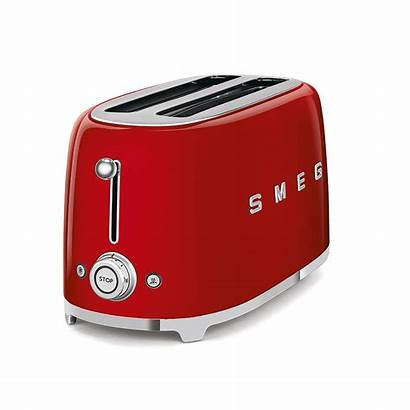 Smeg Toaster Toasters Grille Pain Tranches Broodroosters