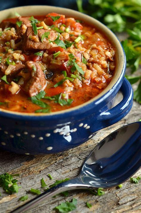 zupa gulaszowa gruzińska charczo | Soup recipes, Cooking ...