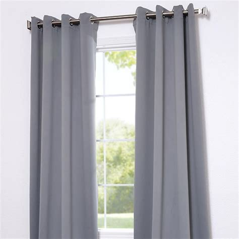 exclusive fabrics and furnishings grommet neutral grey
