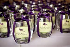 wedding guest favors candles and customized matches wedding favor purple wedding inspiration wedding