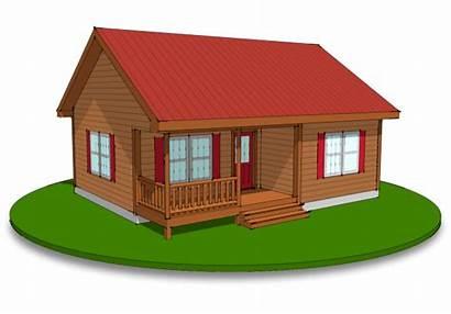 Log Modular Frontier Homes Cabin Chalet Plans
