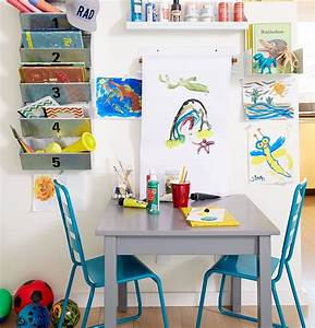 kids craft room the land of nod With what kind of paint to use on kitchen cabinets for wall art paper craft