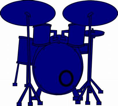 Drum Drums Clipart Clip Silhouette Drummer Cliparts