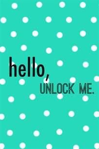 Cute iPhone Lock Screen