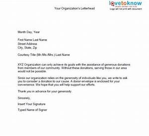 general donation letter fred39s team fundraising With sample letter of donation to charity