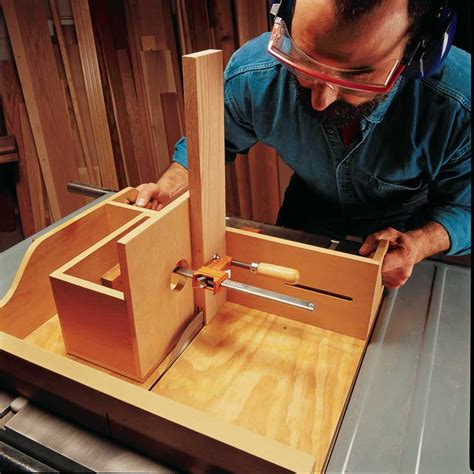 aw extra  tablesaw tenoning jig popular woodworking magazine