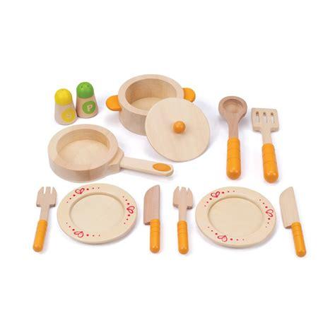 cuisine dinette en bois dînette en bois multicolore hape jeux jouets loisirs