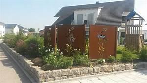 Natürlicher Sichtschutz Garten : sichtschutz mit motiv ganz individuell hier vergleichen ~ Watch28wear.com Haus und Dekorationen