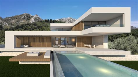 house plans with a courtyard modern villas we design build and sell