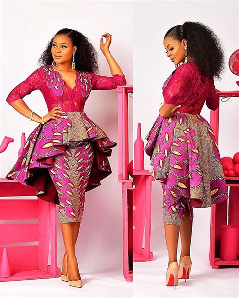 New Modern African Print Dresses Pictures 2018 July Dress