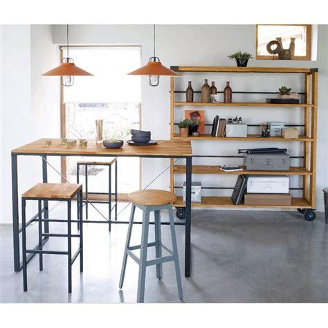 table haute de salle a manger 1000 ideas about table de bar haute on cuisine noir mat d 233 coration condo and