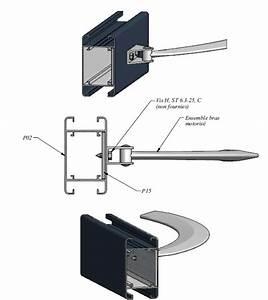 Fixation Portail Battant : portail electrique a battant 2 3 ajour barreaudage ~ Premium-room.com Idées de Décoration