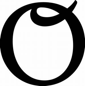 File Latin Capital Letter O With Curl Svg