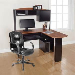 buy corner l shaped office desk with hutch black and cherry in cheap price on alibaba