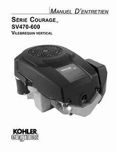 Notice Kohler Sv590