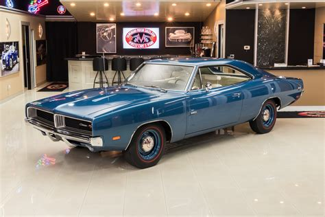 Dodge Charger Hemi For Sale by 1969 Dodge Charger R T Hemi For Sale 95597 Mcg