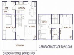 small cottage house plans 3 bedroom cottage house plans With small three bedroom house plans