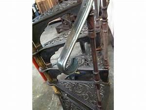 Escalier Industriel Occasion : escalier colima on en fonte xix ieme si cle antiquit art pas cher d 39 occasion l 39 union 31240 ~ Medecine-chirurgie-esthetiques.com Avis de Voitures