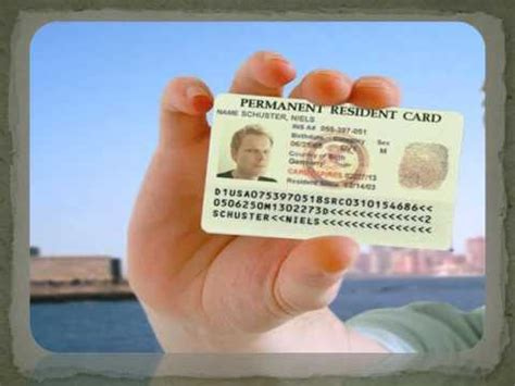 It is not pasted into the passport like any other visa, but forms an independent identification document. Check USA Green Card Status Online - YouTube