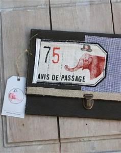 Avis De Passage : pochette avis de passage deco vintage maison caumont ~ Medecine-chirurgie-esthetiques.com Avis de Voitures