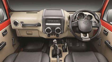 thar jeep interior new mahindra thar facelift shows swanky new interiors