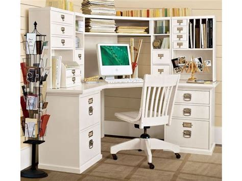 Pottery Barn Bedford Corner Desk Hutch