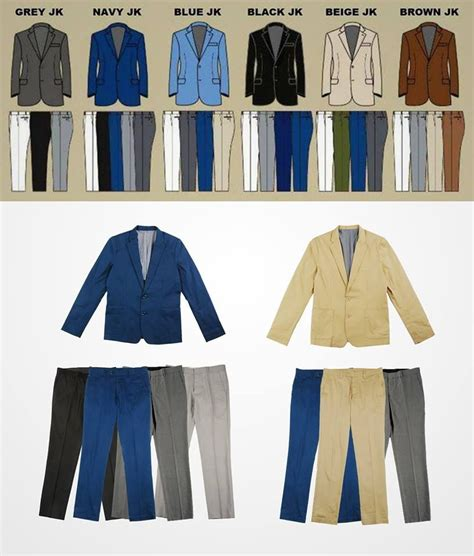 men in suit colors mix match his styles in 2019 mens