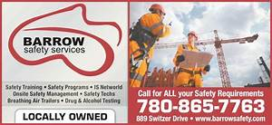 Barrow Safety Services Inc - Opening Hours - 889 Switzer ...