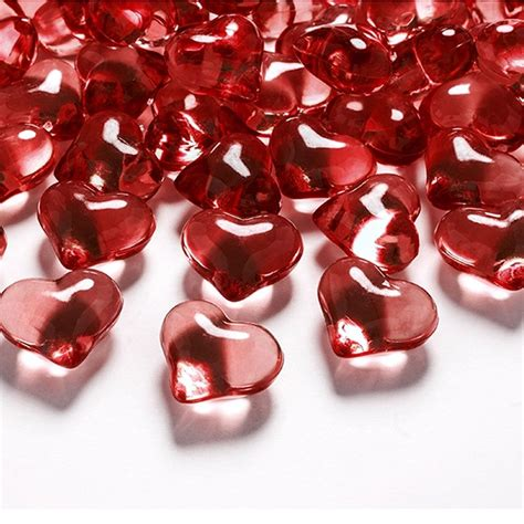 deko herzen hochzeit rote deko herzen acryl hochzeit