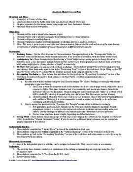 American History Worksheets Rcnschool